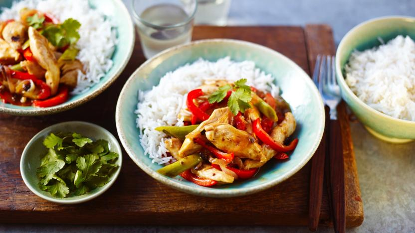 Chicken With Black Bean Sauce Recipe Bbc Food