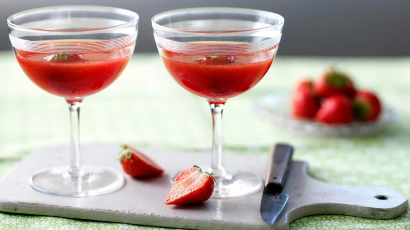 Strawberry Daiquiri Recipe Bbc Food