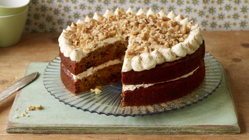 Carrot Cake Recipe Uk Bbc