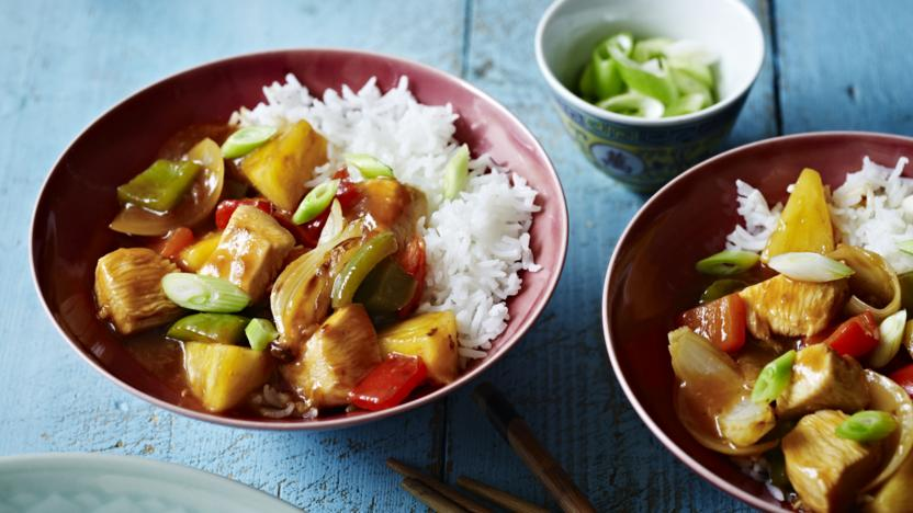 Sweet And Sour Chicken Recipe Bbc Food