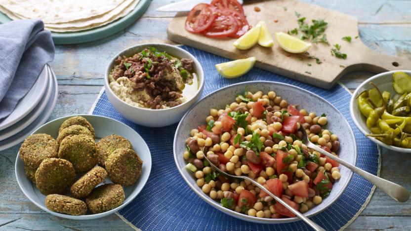Syrian-inspired brunch