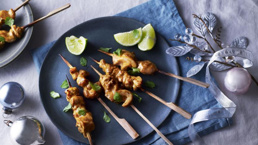 Tandoori Chicken Skewers Recipe Bbc Food