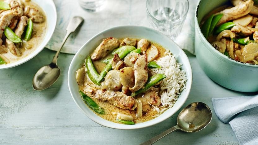 Thai Chicken Curry Recipe Bbc Food
