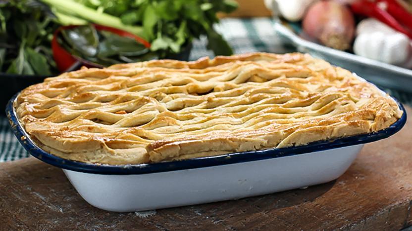 Thai chicken pie recipe bbc food thai chicken pie forumfinder Images