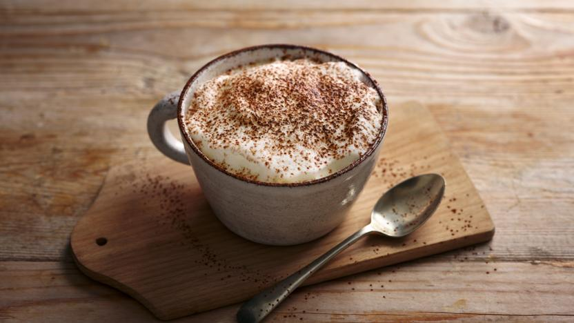 The perfect mocha coffee