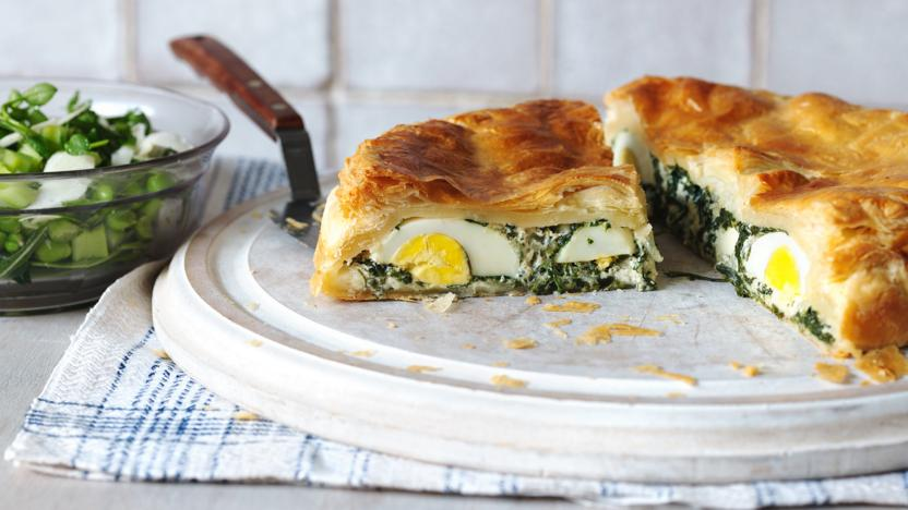 Easter spinach pie (torta pasquale)
