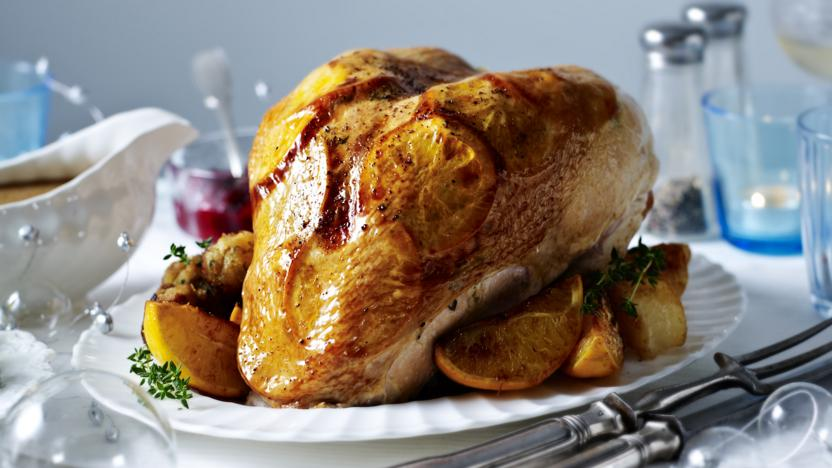 Mary Berry's roast turkey crown