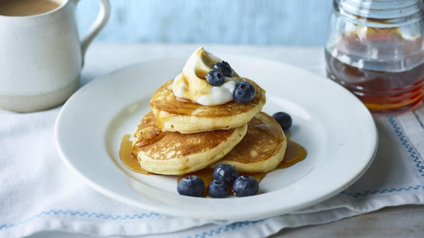 Vegan Pancakes Recipe Bbc Food