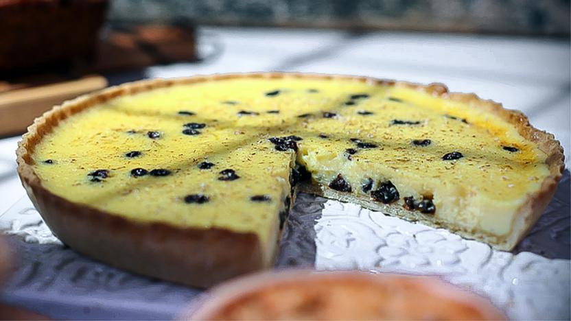 Paul Hollywood's Yorkshire curd tart