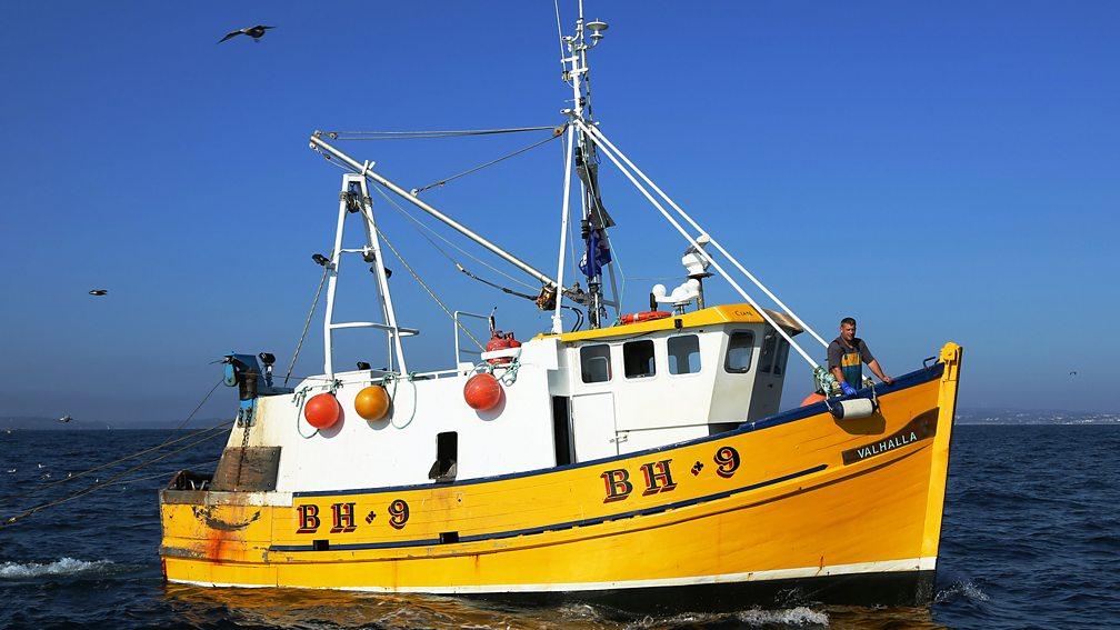 Fishing boat in Cornwall