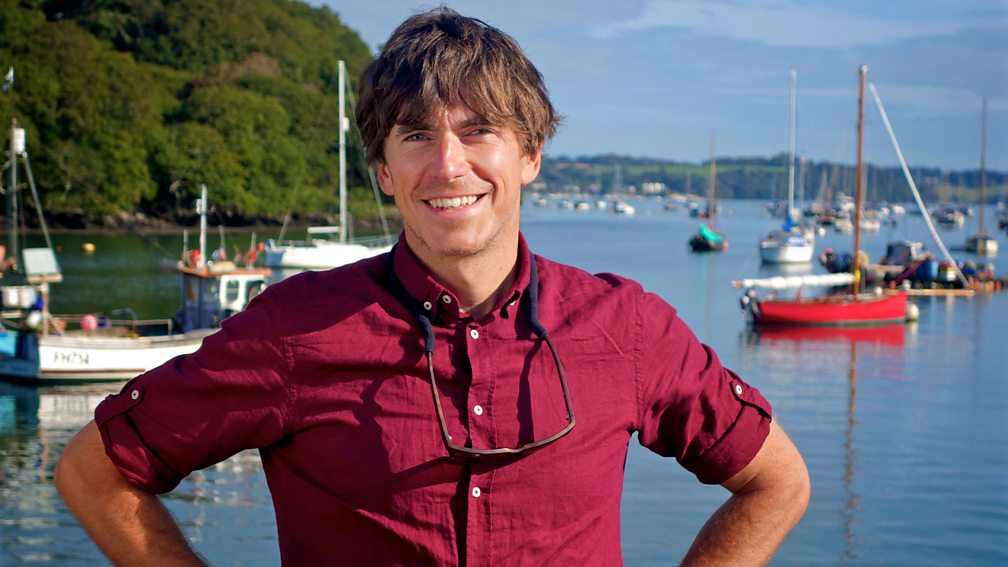 TV's Simon Reeve in Cornwall