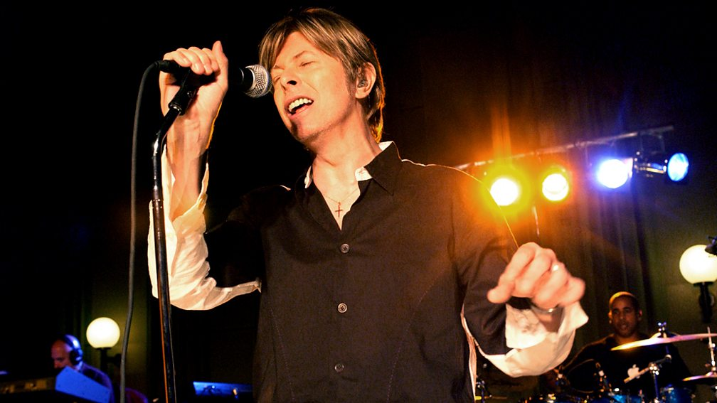 As part of Radio 2's tribute to the late David Bowie, we've another chance to a hear performance recorded at the BBC's Maida Vale Studios in 2002.