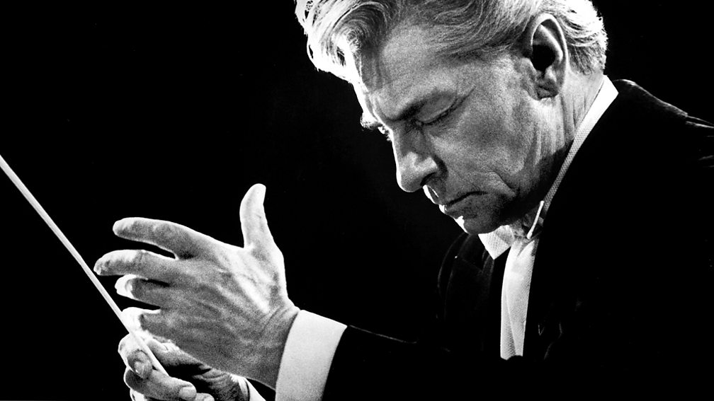 Herbert von Karajan, principal conductor of the Berlin Philharmonic for 35 years
