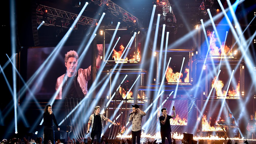 One Direction perform Drag Me Down at the BBC Music Awards 2015