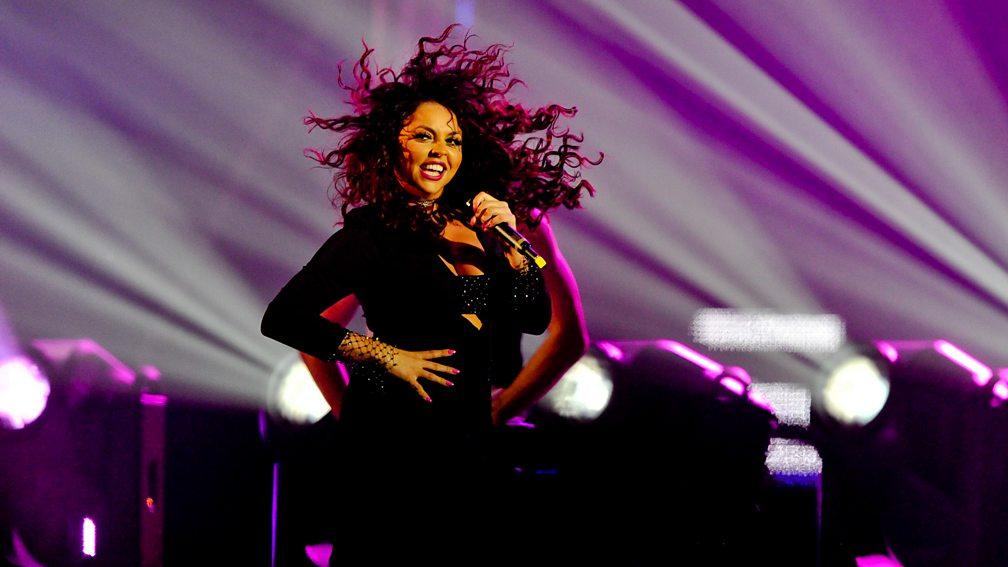 Jesy Nelson at the BBC Music Awards 2015