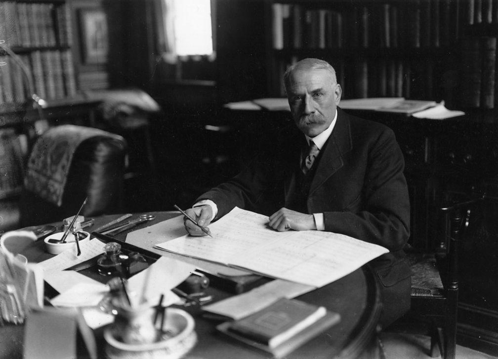 Edward Elgar in 1919