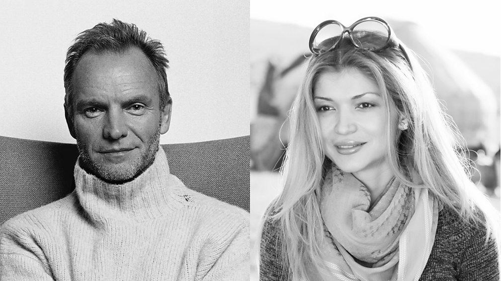 Sting and Gulnara Karimova