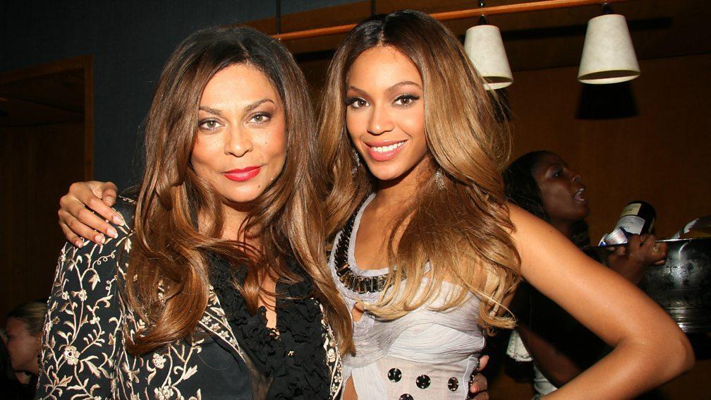 Beyoncé and her mother, Tina Knowles, 2006