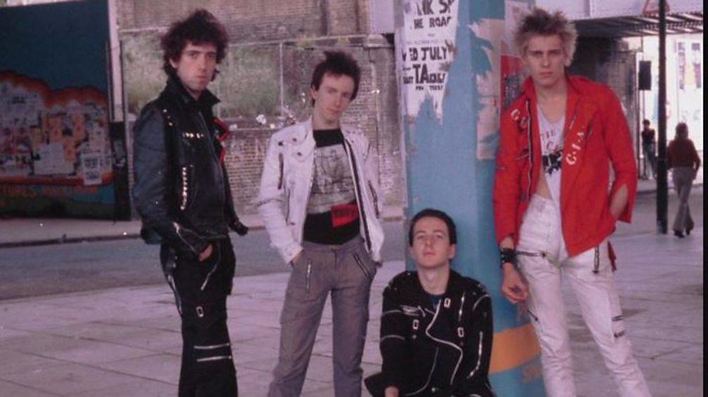 The Clash with Topper Headon (centre)