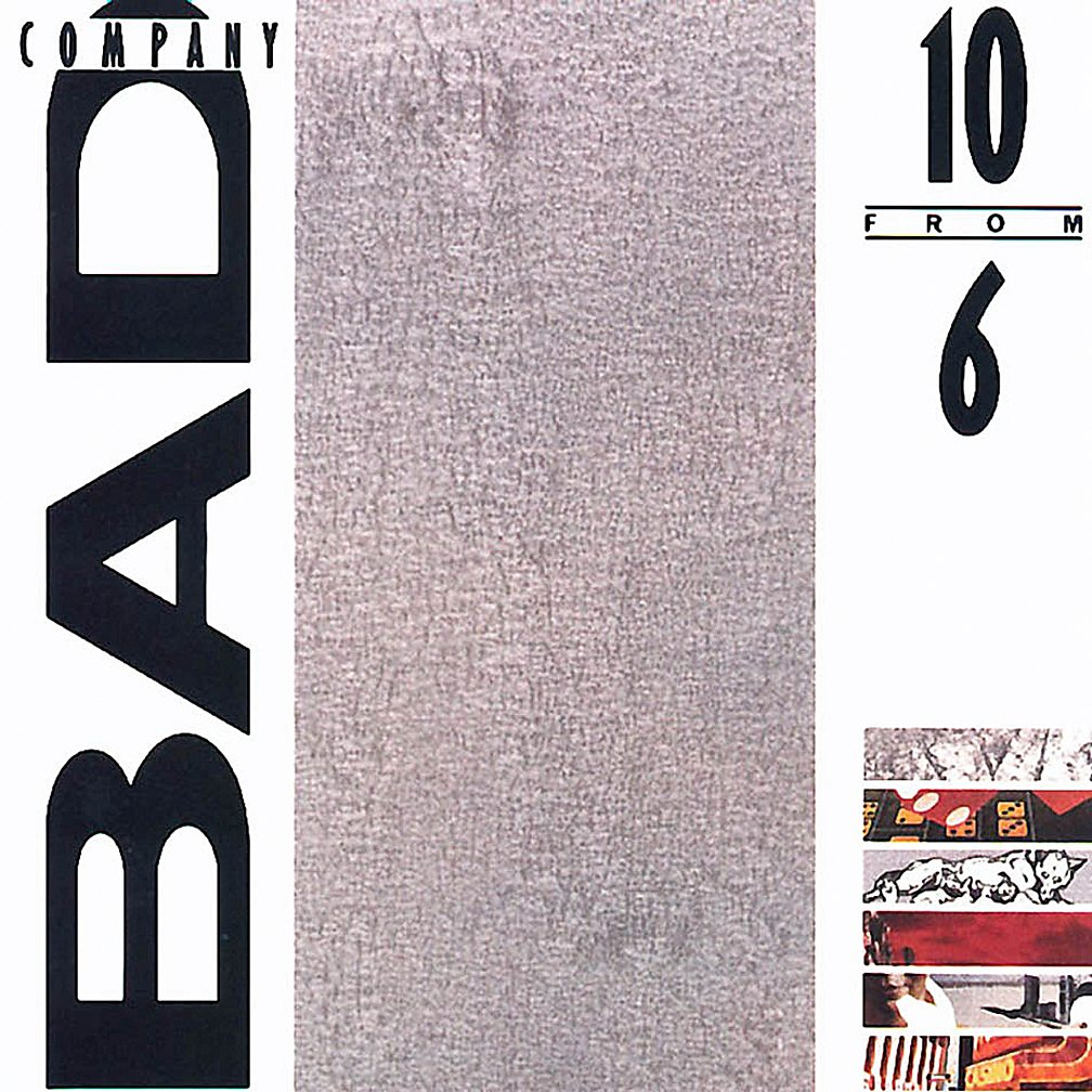10 from 6 is a compilation album that came out in 1985. It was given that  slightly clunky title because it has 10 songs, and Bad Company had released  six ...