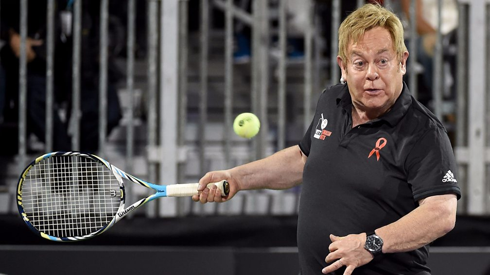 Racquet Man 12 Pop Stars You Wouldn T Expect To Play Tennis Bbc Music