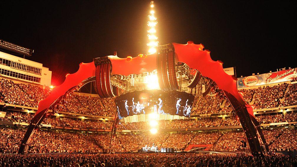 U2's 360 Tour at Giants Stadium, New Jersey, 24 September, 2009