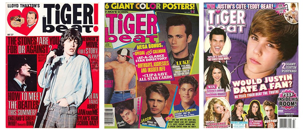 Top selling teen magazines