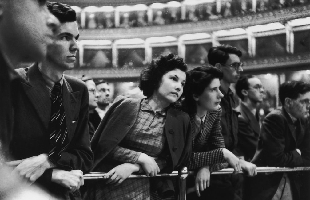 Prommers at the Royal Albert Hall, 1941