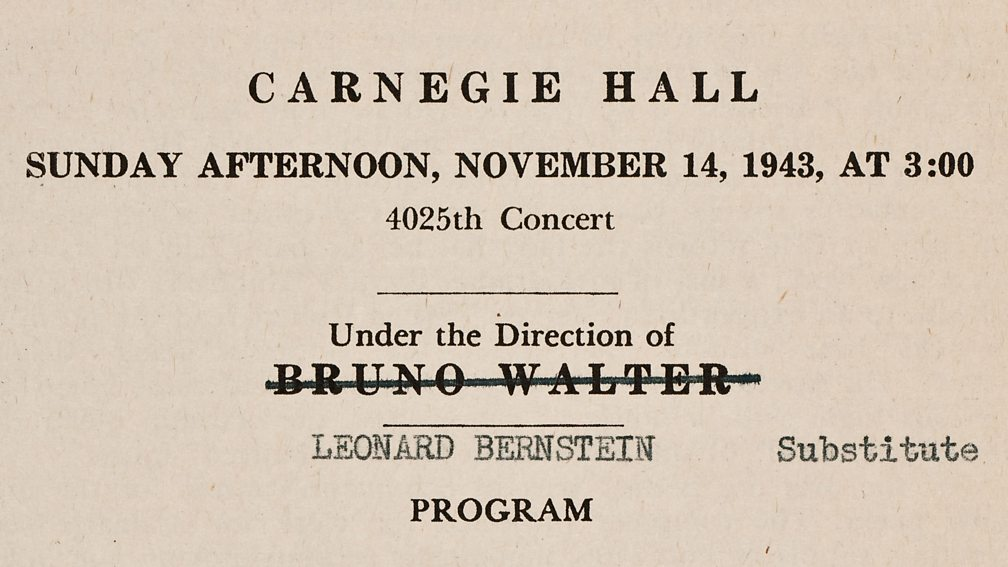 Image courtesy of the New York Philharmonic Leon Levy Digital Archives