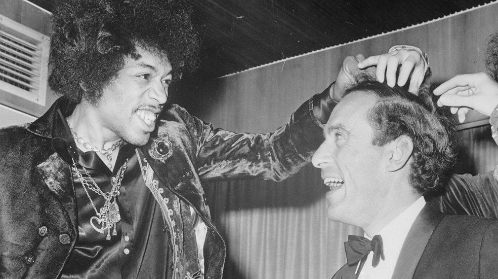 Jimi Hendrix and Jeremy Thorpe, 1967