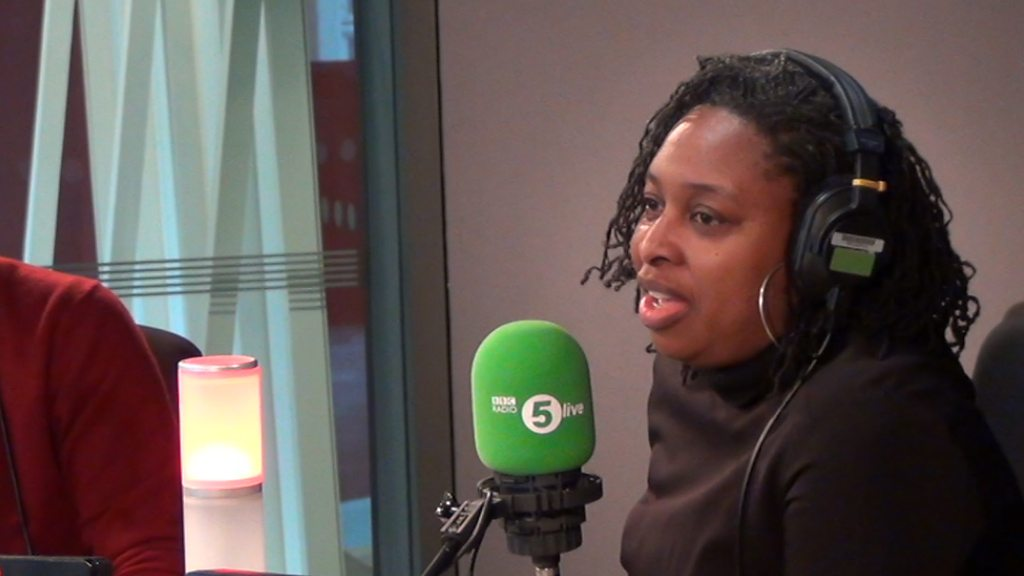 Black MP 'was mistaken for cleaner'