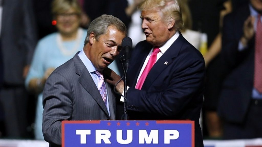 What links Trump's victory and Brexit?