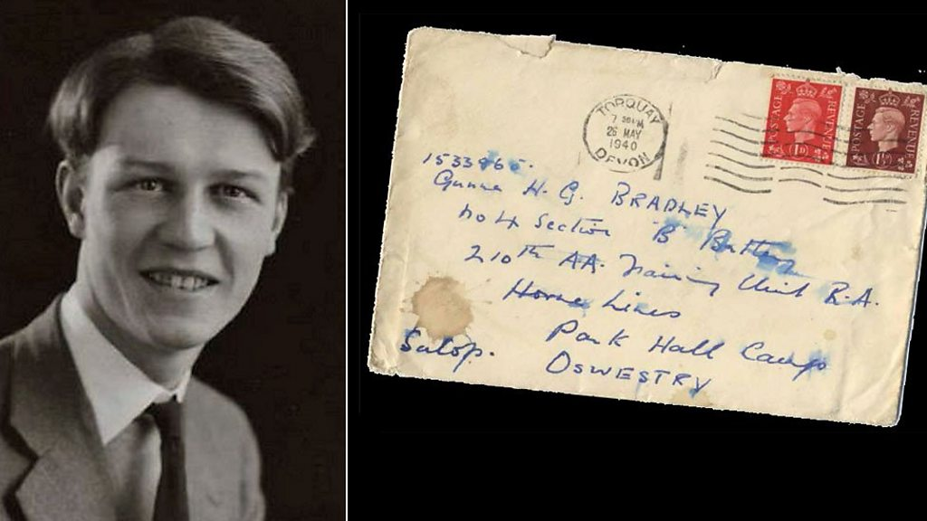 "Hundreds of love letters between two gay World War II soldiers were found and are being made into a book. In one, one of them wrote, ""Wouldn't it be wonderful if all our letters could be published in the future in a more enlightened time. Then all the world could see how in love we are."""