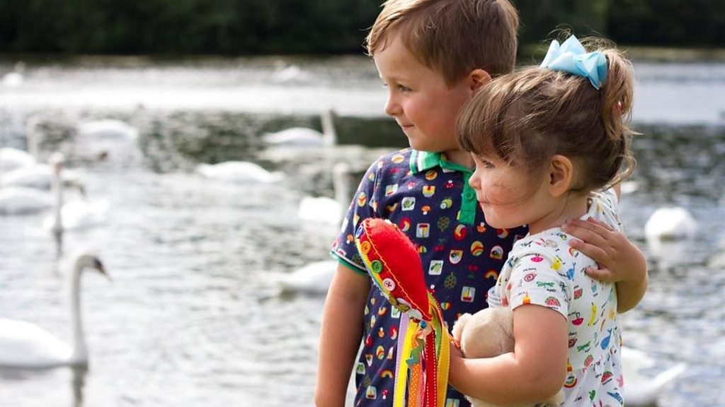 04d88d219 Rainbow babies: The children bringing hope after loss - BBC News