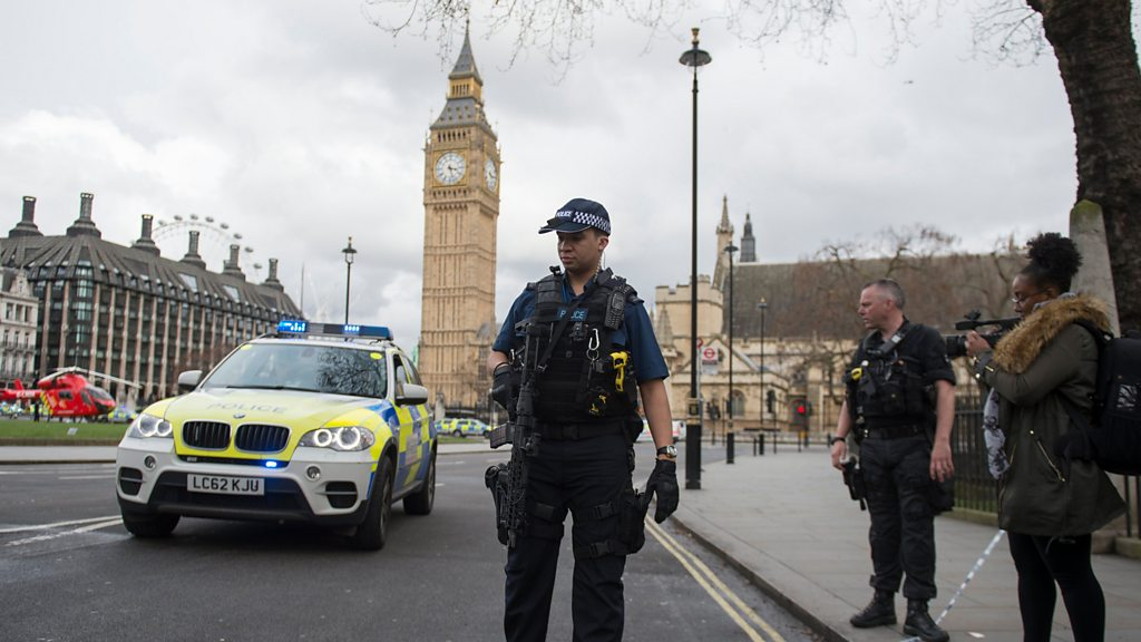 London Attack Two Killed In Westminster Terror Incident