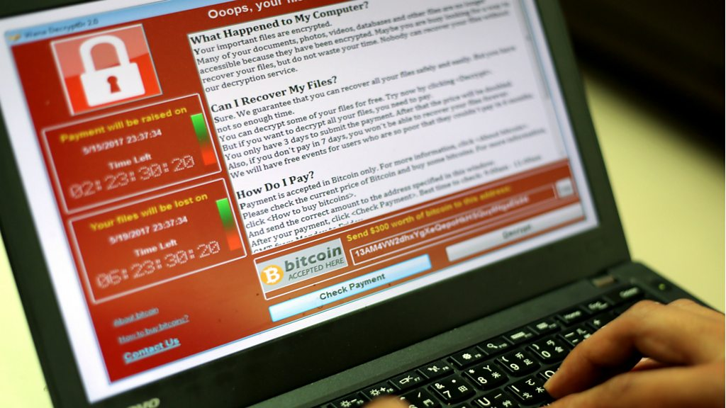 Global cyber-attack: Security blogger halts ransomware 'by accident' - BBC News