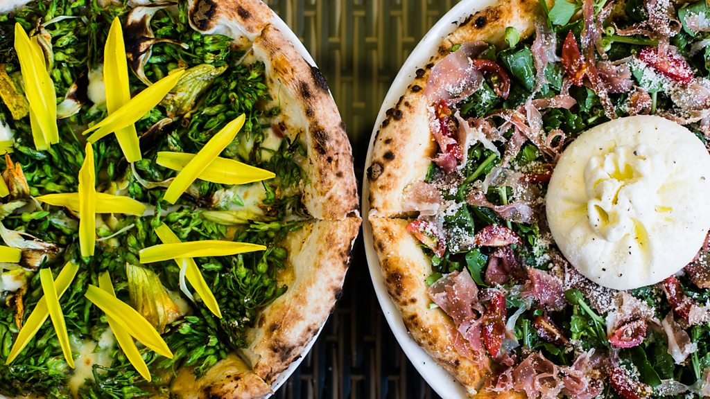 Fancy a four flowers or ginger fried pork pizza?