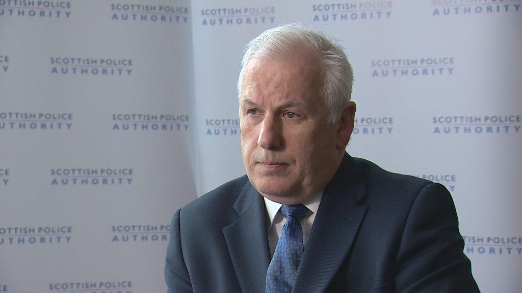 Scottish police board chief Andrew Flanagan