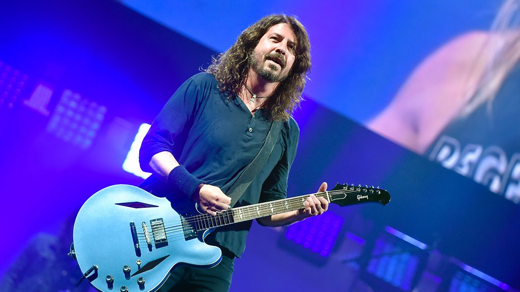 Foo Fighters finally headline Glastonbury
