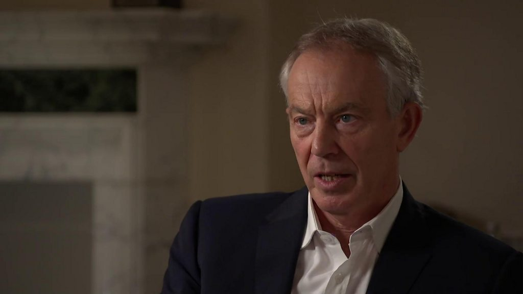 Tony Blair: I think Corbyn could be PM10 Downing Street - BBC Two - British Summer Time - BST - Jeremy Corbyn - John Mc Donnell - Labour Party - Newsnight - Proposed Referendum On United Kingdom Membership Of The European Union - Tony Blair