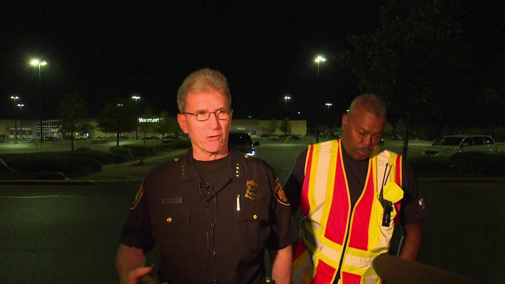 San Antonio: Eight found dead in truck in Walmart car park