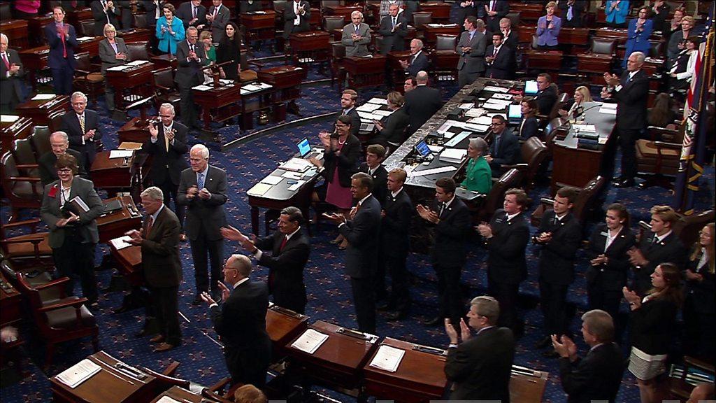 bbc.co.uk - Obamacare: US senators vote in favour of debating repeal - BBC News