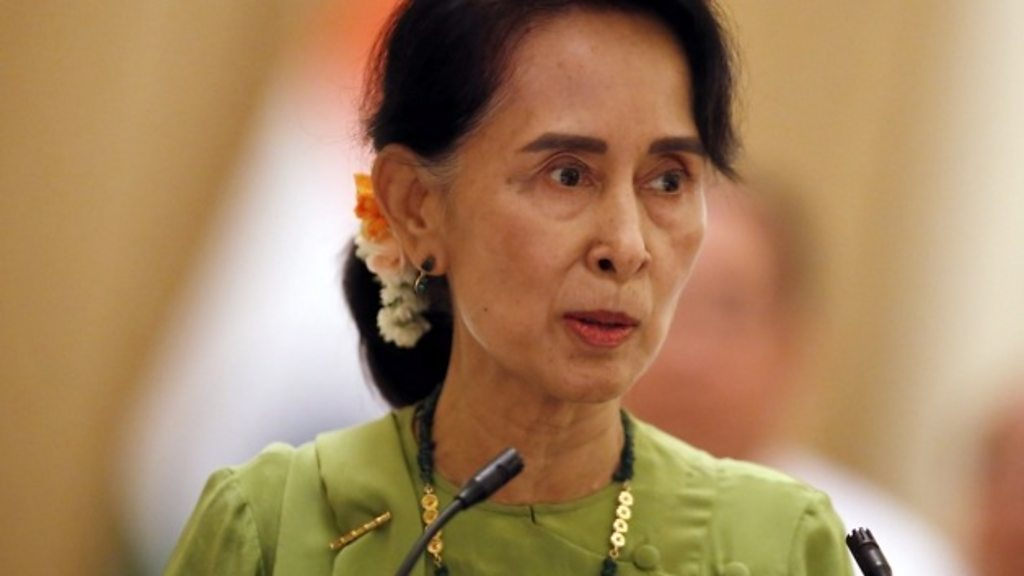 how aung san suu kyi sees the rohingya crisis bbc news. Black Bedroom Furniture Sets. Home Design Ideas