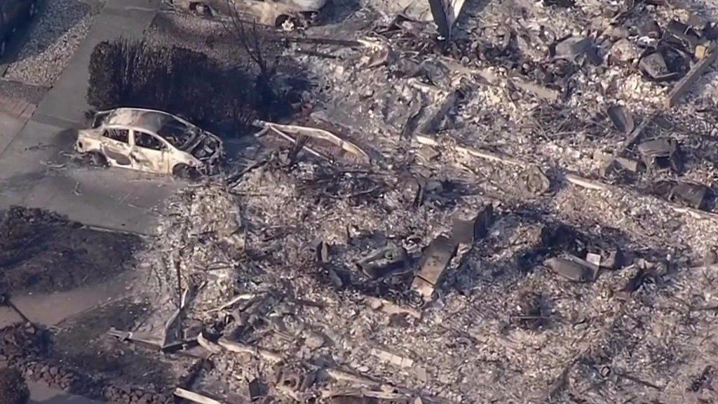 California wildfires: Calistoga evacuated amid blazes