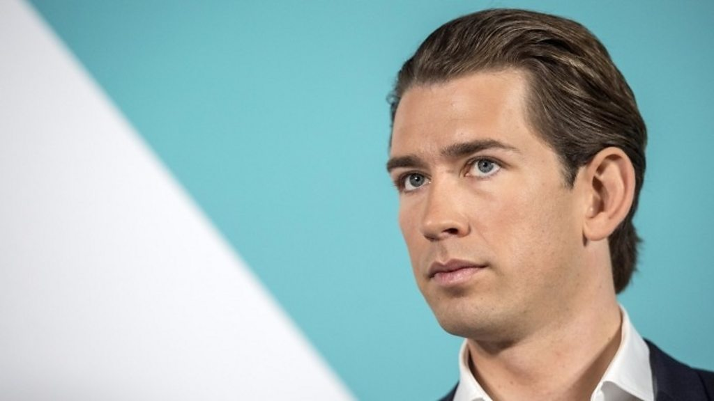 Sebastian Kurz: Austrian conservative set to become world's youngest leader