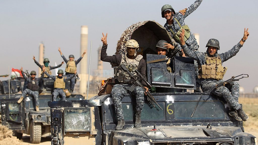 Iraqi forces make fresh gains from Kurds