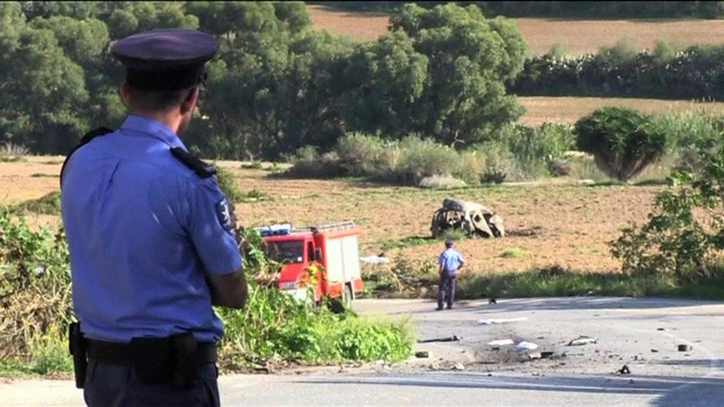 Malta blogger killed in car bomb attack