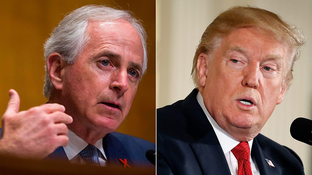 Trump an 'utterly untruthful' president who's 'debasing' the US, GOP Sen. Bob Corker says