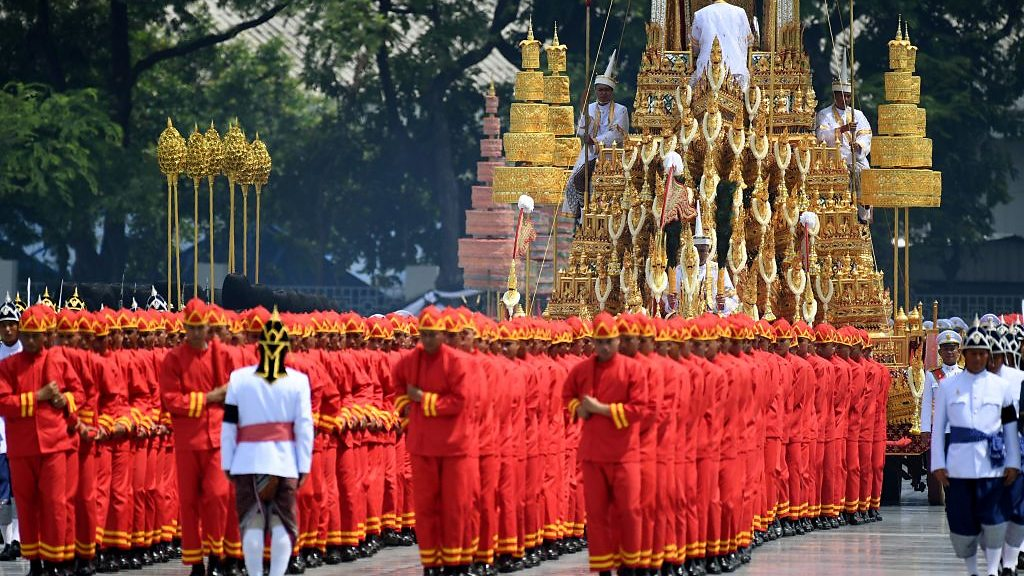 Cremation ceremony for late Thai king begins