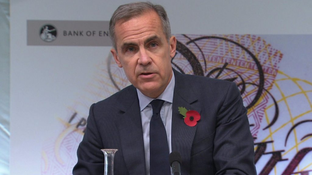 What will be the Bank of England's Base Rate on November 1st 2020?